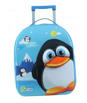 """Bayer Chic Látkový kufřík s kolečky """"tučňák"""""""