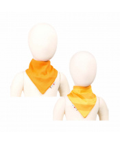 Manymonths oboustranný šátek merino Saffron Yellow
