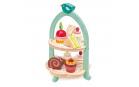 Tender Leaf Toys Dřevěná cukrárna Birdie Afternoon Tea stand  se zákusky a sendviči