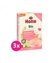 3x HOLLE Kaše nemléčná Bio babymüsli 250 g