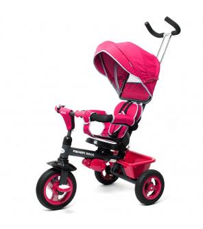 Dětská tříkolka Baby Mix 5v1 RIDER 360° růžová