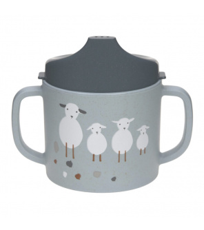 Lässig BABIES Sippy Cup PP/Cellulose Tiny Farmer Sheep/Goose