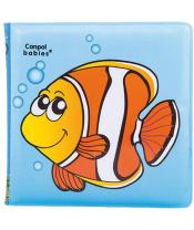 CANPOL BABIES Měkká knížka pískací - ryba