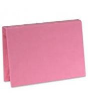 Plachta Jersey s gumou Růžová 60x120 cm
