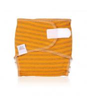 EH Newbie orange stripes - novorozenecká látková plena