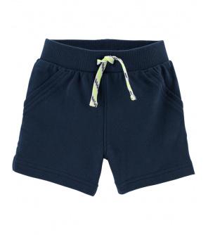 CARTER'S Kalhoty krátké Dark Blue chlapec 24 m, vel. 92