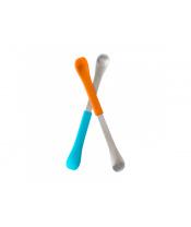 Boon - SWAP - Oboustranná lžička 2ks modro-oranžová