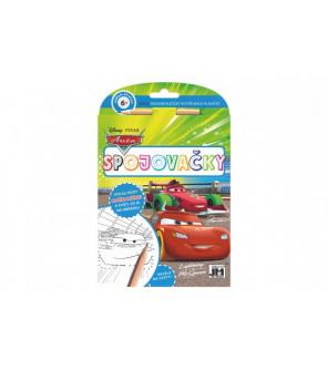 Spojovačky s tužkou Auta/Cars 15x21cm