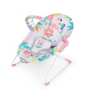 BRIGHT STARTS Lehátko vibrující Flamingo Vibes ™ 0m +, do 9kg