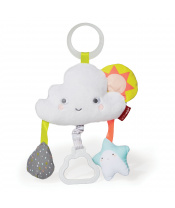 Hračka na C kroužku Silver Lining Cloud Mráček 0m+