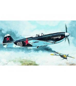 Model Jakovlev Jak 3 11,9x12,7cm v krabici 25x14,5x4,5cm