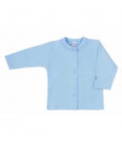 Kojenecký kabátek Bobas Fashion Mini Baby modrý