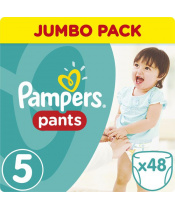 Kalhotky plenkové ActivePants 5 JUNIOR 12-18kg 48ks Pampers