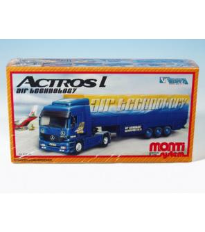 Stavebnice Monti 54 Air Technology Actros L-MB 1:48 v krabici 31,5x16,5x7,5cm