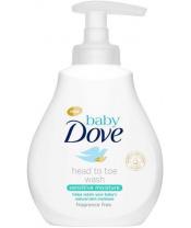 Gel mycí na celé tělo a vlásky Sensitive 200ml Baby Dove