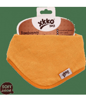 KIKKO Slintáček/šátek bambusový Colours (1 ks) – orange