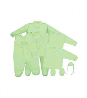 5-ti dílná soupravička zelená