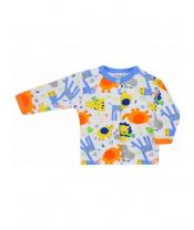 Kojenecký kabátek Bobas Fashion Zoo modrý