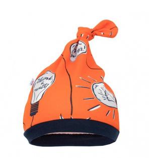 Kojenecká bavlněná čepička New Baby Happy Bulbs