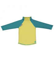 Pop-in triko UV filtr dlouhý rukáv Mustard/Teal