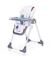 Jídelní židlička CARETERO Luna grey