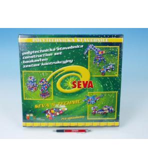 Stavebnice Seva 5 Technic plast 719ks v krabici 35x33x8cm