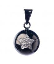 Babylonia BOLA black with glitter star VG620  DOPRODEJ