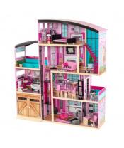Kidkraft Domeček pro panenky Shimmer Mansion s vybavením