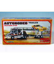 Stavebnice Monti System MS 39 Autorodeo Trailer Western star 1:48 v krabici 32x20x7,5cm