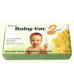 Arianna 2 Ergonomic nosní odsávačka Baby-Vac