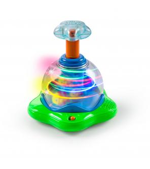BRIGHT STARTS Hračka hudební svítící Press & Glow Spinner 6m +