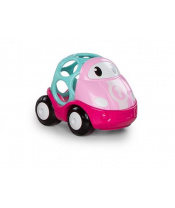 OBALL Autíčko závodní, růžová, 6 m+