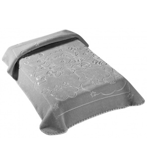 Scarlett Španělská deka 520 - šedá, 80 x 90 cm