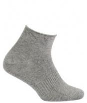 WOLA Ponožky kojenecké bambusové jednobarevné neutral Grey 12-14