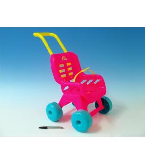 Kočárek Buggy Sport plast 25x49x40cm