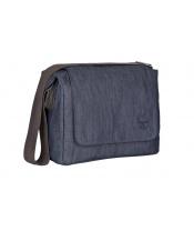 Lässig FAMILY Green Label Small Messenger Bag Update 2019 denim blue