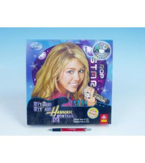Hry Být jako Hannah Montana+CD Trefl