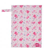 Pytlík na pleny růžová kočička UNI