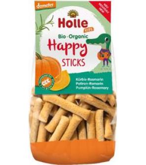 HOLLE Dětské Bio Happy tyčinky dýně-rozmarýn, 100 g (3+)