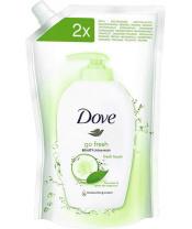 Mýdlo tekuté svěží dotek Fresh Touch 500ml náhradní náplň Dove