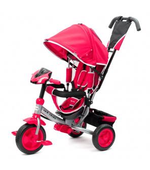 Dětská tříkolka s LED světly Baby Mix Lux Trike růžová