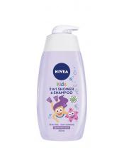 Gel dětský sprchový 2v1 Girl 500ml Nivea Baby