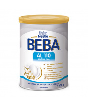 BEBA AL 110 Lactose free, Mléčná počáteční výživa, 400 g