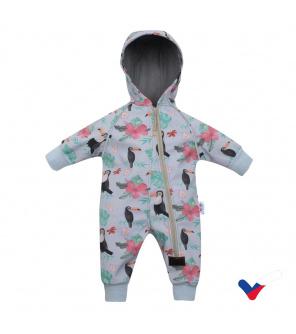 Softshellový kojenecký overal New Baby Tukan