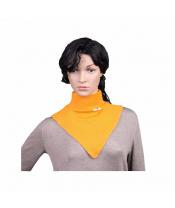 Manymonths nákrčník merino Saffron Yellow