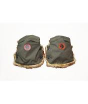 Rukavice na kočárek BASIC Olive Melange