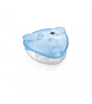MAM Box na sušené mléko modrý