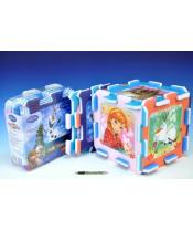 Pěnové puzzle Ledové království/Frozen 32x32x1cm 8ks v sáčku