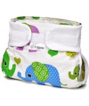 T-TOMI Kalhotky abdukční ortopedické (5-9 kg) - green elephants
