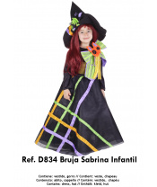 Nines Kostým Bruja malá čarodějnice  vel. 7-9 let